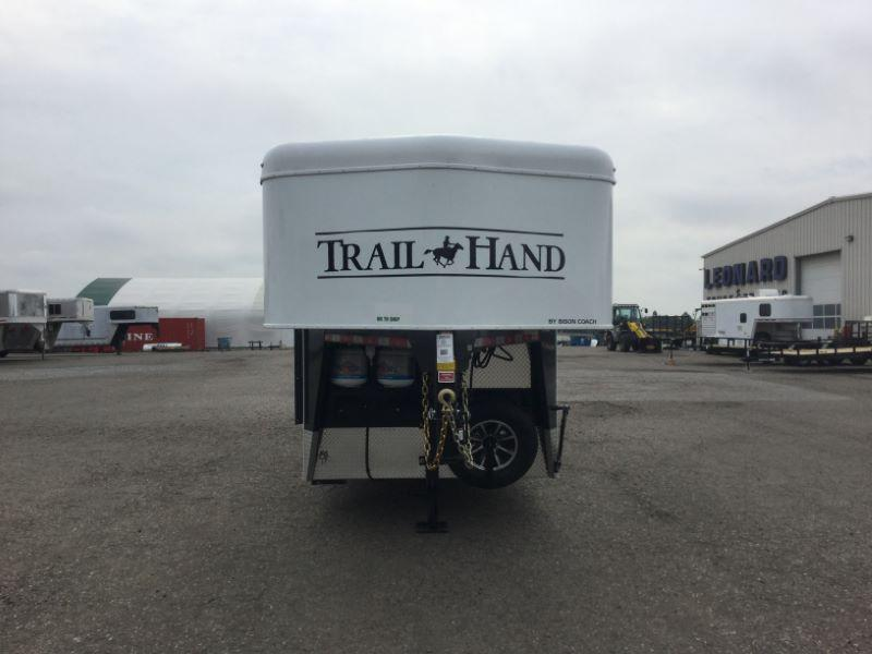 2018 Bison Trailers 7308TH Horse Trailer