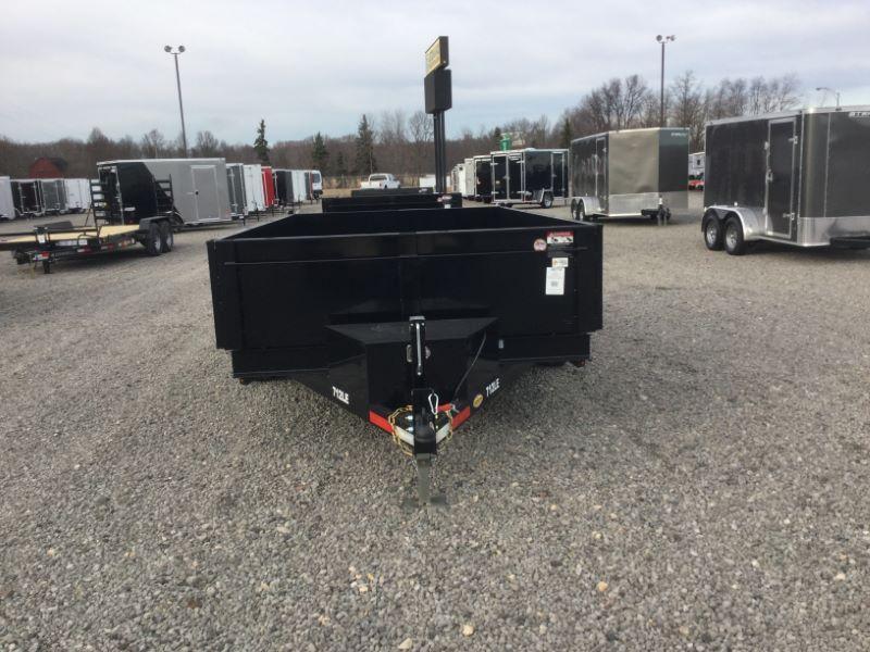 2017 Bri-Mar DT712LP-LE-12-A Dump Trailers
