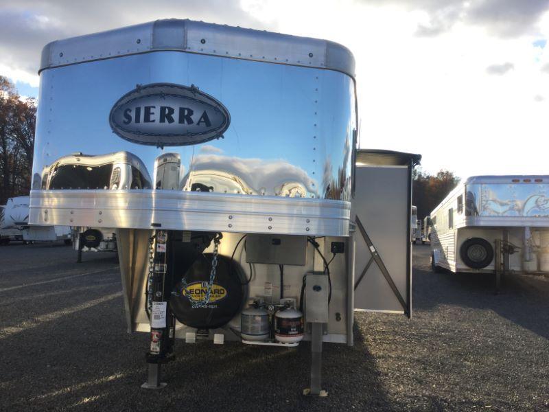 2017 Sierra 8414LQSL Horse Trailer