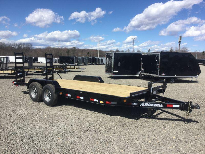 2017 Norstar 1BEQ8318TA5 Equipment Trailer