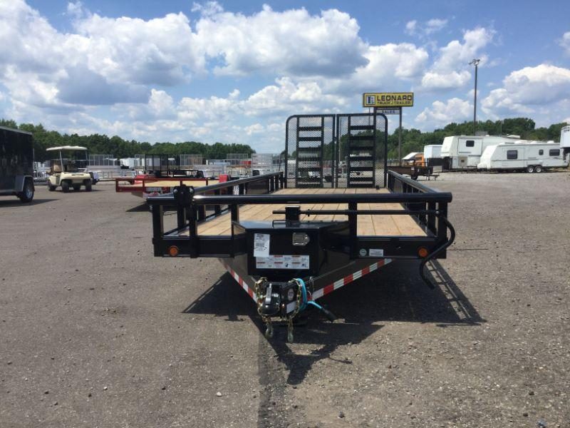 2016 Load Trail CS83X22TAEQT Equipment Trailer