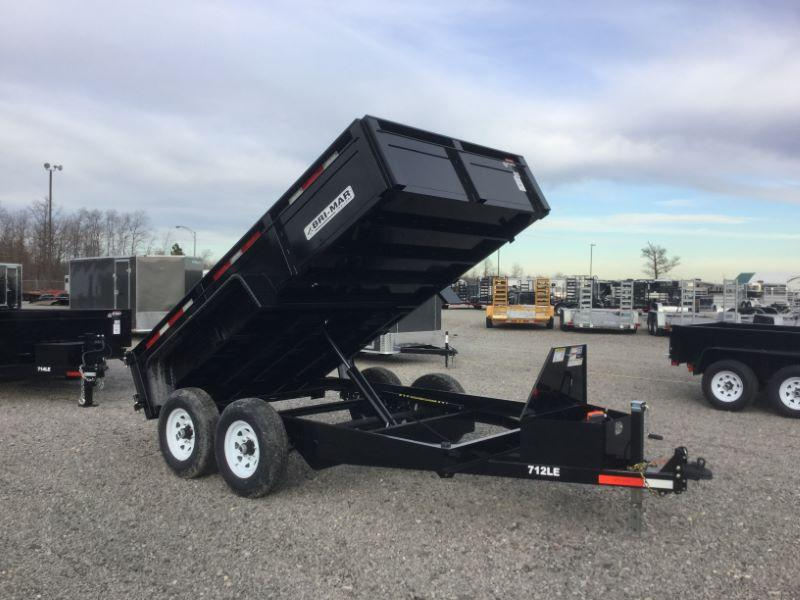 2017 Bri-Mar DT712LP-LE-12-A Dump Trailers