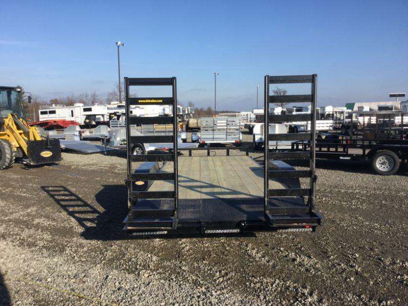 2017 H and H Trailer 8.5HD16+DOVE18'IL Car / Racing Trailer