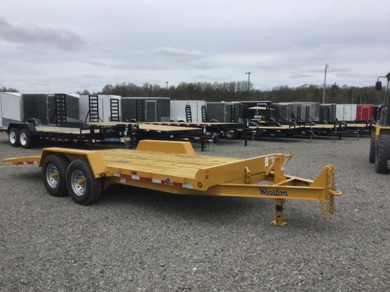 2017 Winston BT20719ES Equipment Trailer
