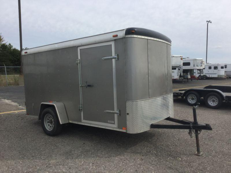 2016 Atlas Specialty Trailers AU612SA Enclosed Cargo Trailer