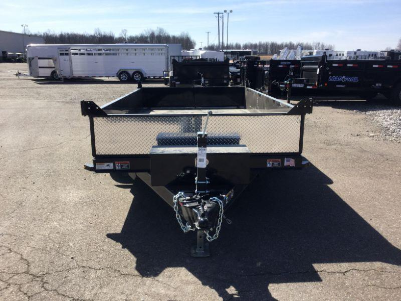 "2017 H and H Trailer UDB8X12-15""TA Dump Trailers"