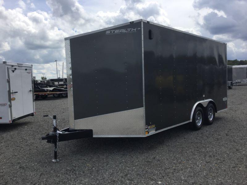 2018 Stealth Trailers STET8.516TA2 Car / Racing Trailer