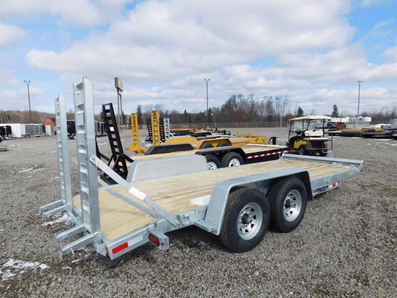 2016 Load Rite LREQ79X18TA16K Equipment Trailer