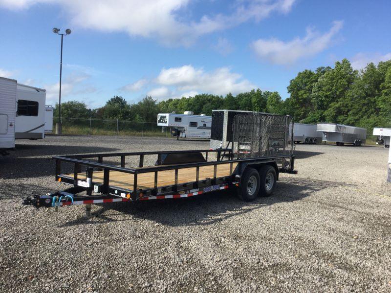 2016 Load Trail CS83X20TAEQT Equipment Trailer