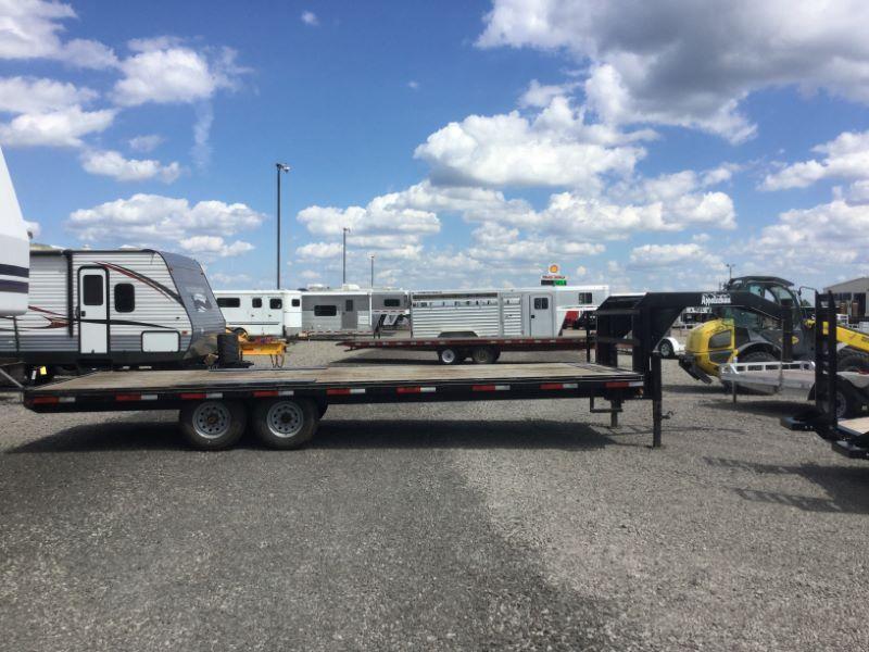 2012 Appalachian 102X2416KGN Equipment Trailer