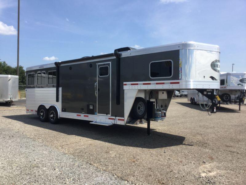 2018 Sierra 8308LQ Horse Trailer