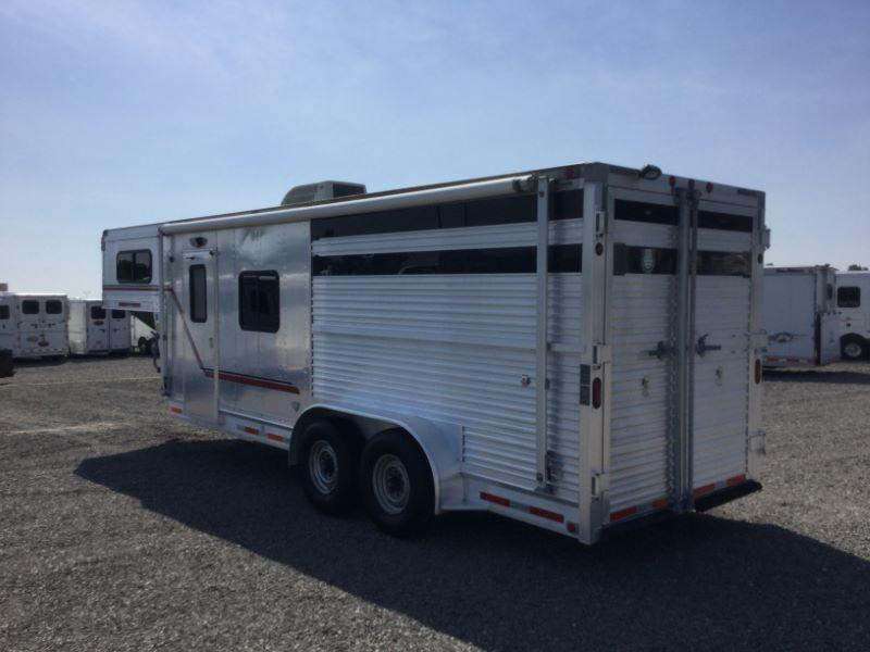 1997 Eby Trailers 7208 Horse Trailer