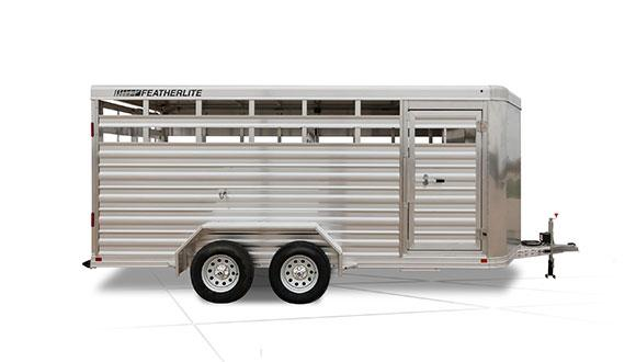 2019 Featherlite 8107 Livestock Trailer