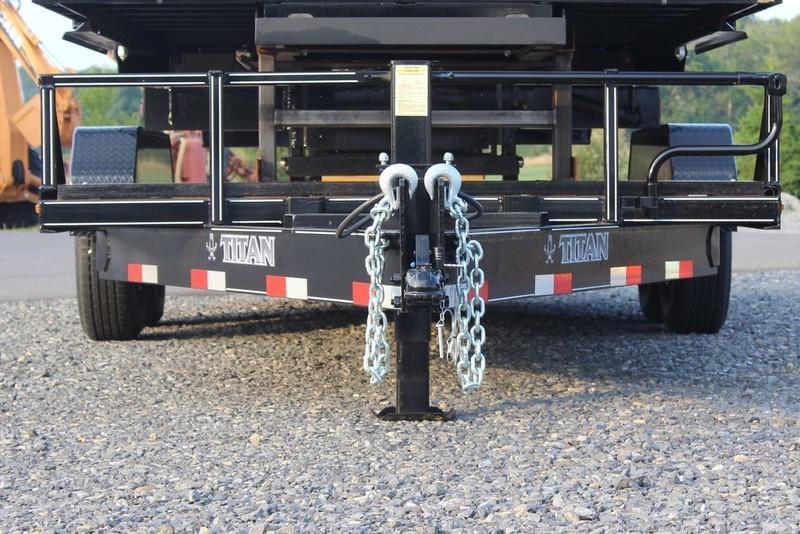 2017 Titan Trailer Bumper Hitch Utility Trailer