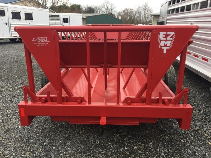 2018 Titan West EZMT Portable Cattle Feeder
