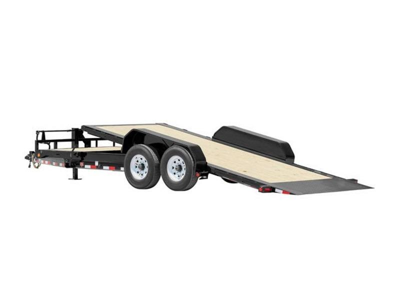 "2018 PJ Trailers HD Equipment Tilt 6"" Channel (TJ) 22'"
