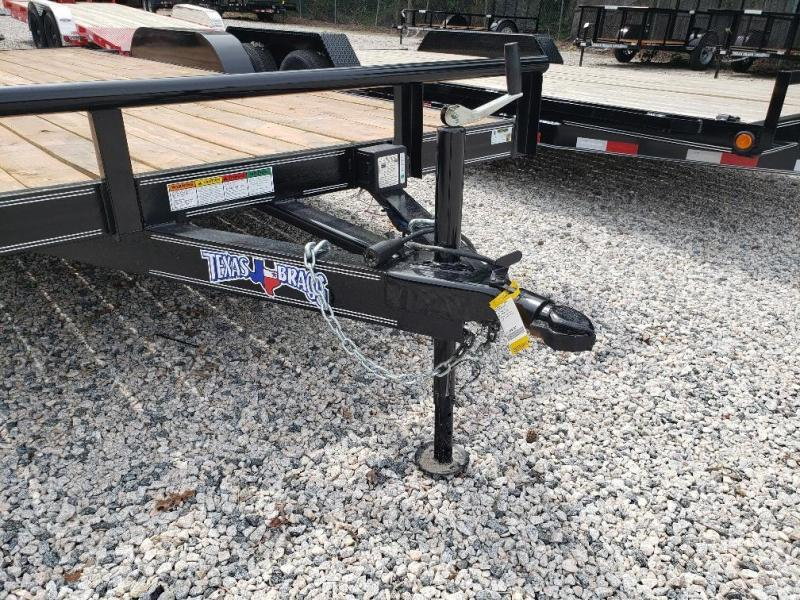 2019 Texas Bragg Trailers 18HCH Car Trailer w/ Slide in Ramps