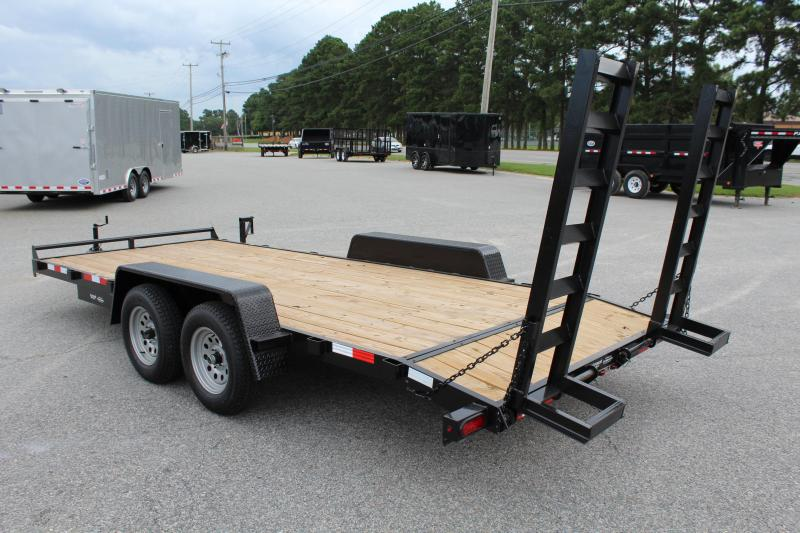 2018 Down 2 Earth 18ft 7K w/ Fold Up Ramps