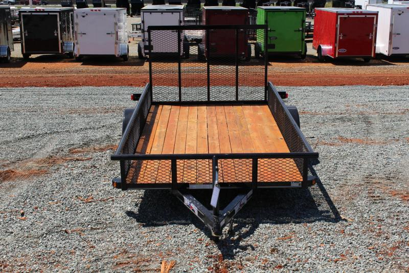 2019 Texas Bragg 6x12P w/ Expanded Sides and Gate