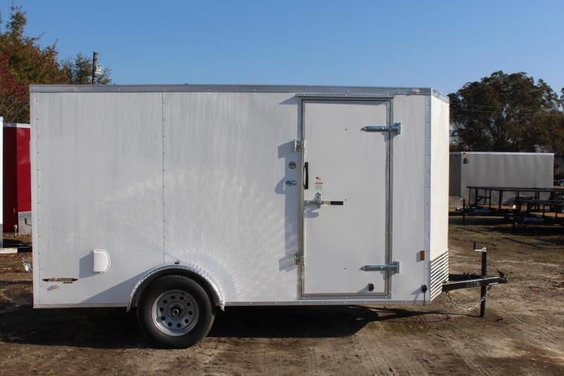 2019 Continental Cargo 6X12 w/ Ramp Door  in Hollister, NC
