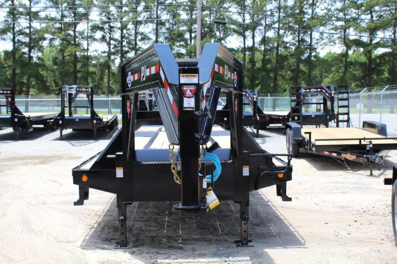 2020 PJ Trailers 34ft LY Low Pro Gooseneck w/Hydraulic Dove