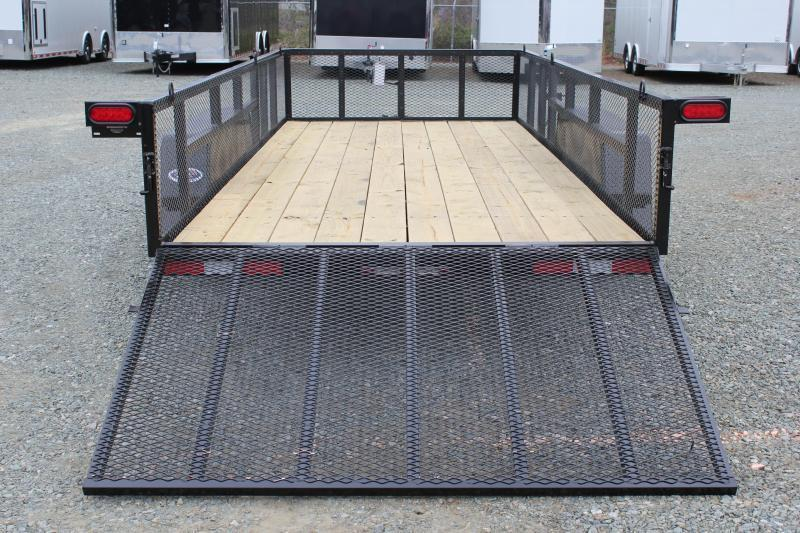 2018 Down 2 Earth 16ft w/ 2ft Expanded Sides & Gate