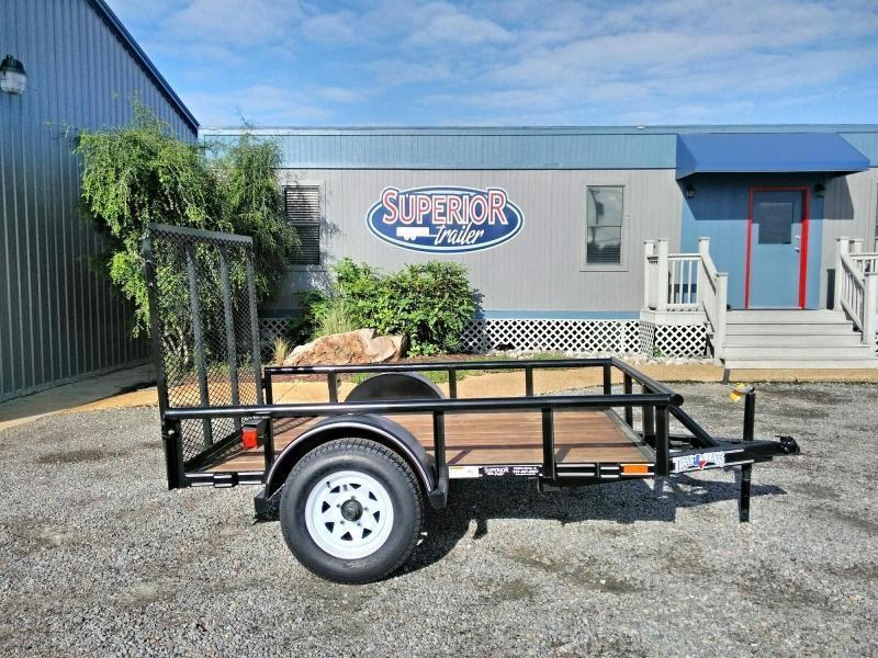 2018 Texas Bragg Trailers 5X8P w/ Gate