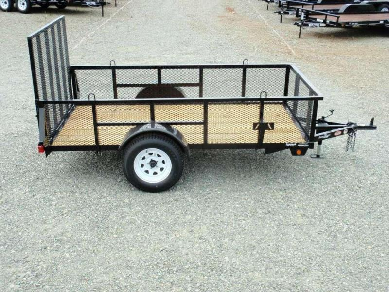 2018 Down 2 Earth Trailers 5X10 2ft Expanded Sides & Gate