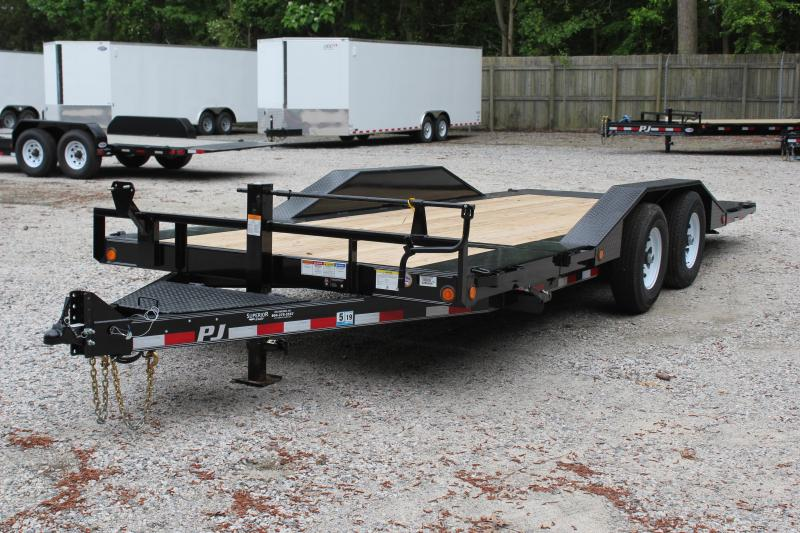 2019 PJ Trailers 20' TS 14K Tilt Equipment Trailer