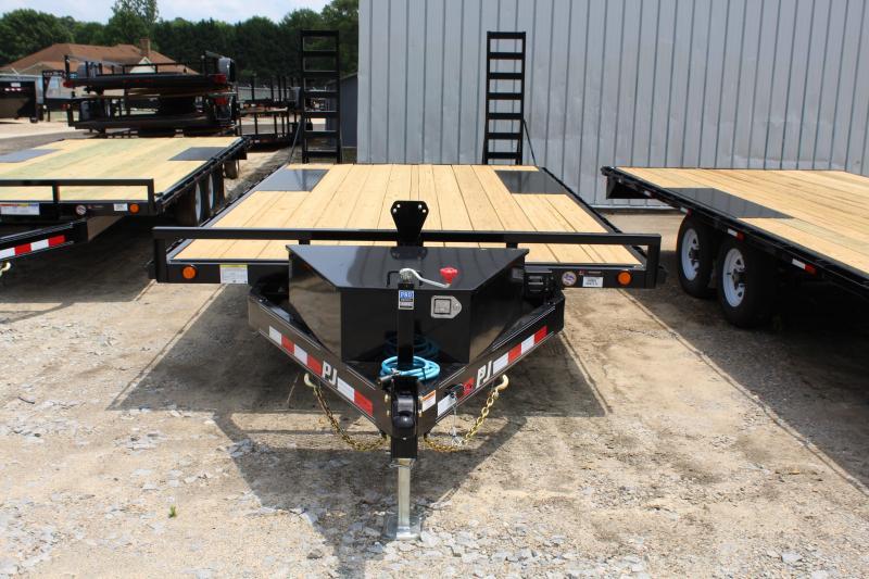 2020 PJ Trailers 18ft L6 10K Deckover w/ Foldup Ramps
