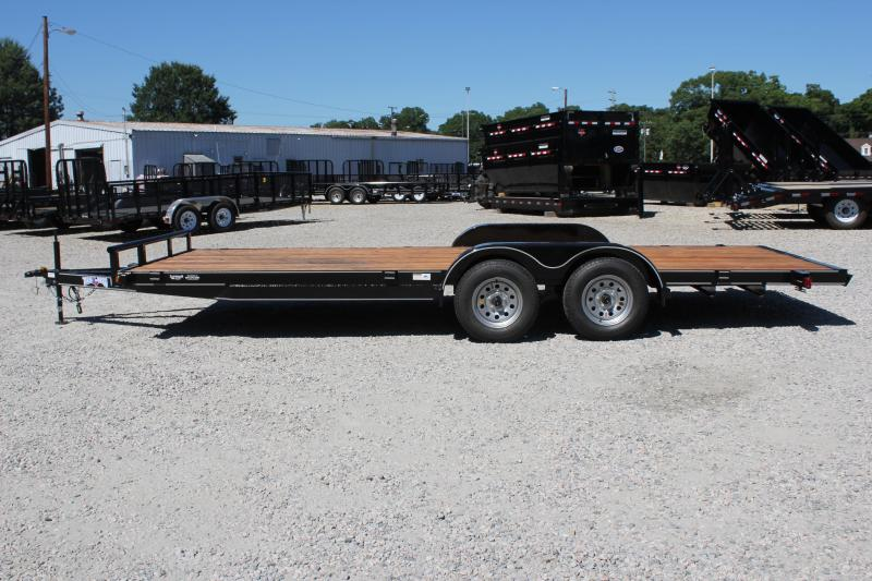 2018 Texas Bragg 20HCH Car Trailer w/ Ramps