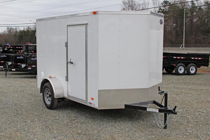 2020 Bravo Hero 6x10 w/ Double Rear Door  in Morrisville, NC