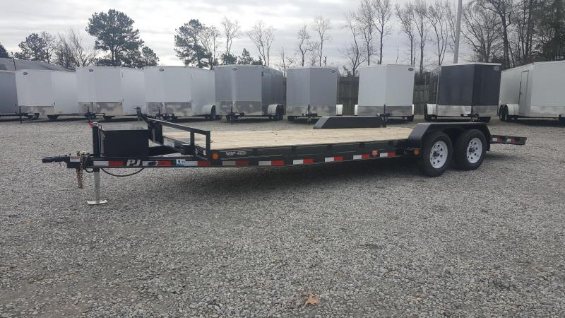 2018 PJ Trailers 22ft C5 7K Car / Racing Trailer