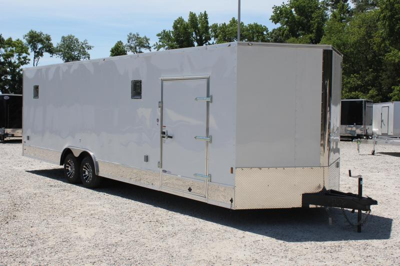 2018 Continental Cargo 8.5x28 10K LOADED Car Trailer