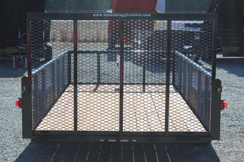2018 Texas Bragg 6x12P w/ 2ft Expanded Sides and Gate