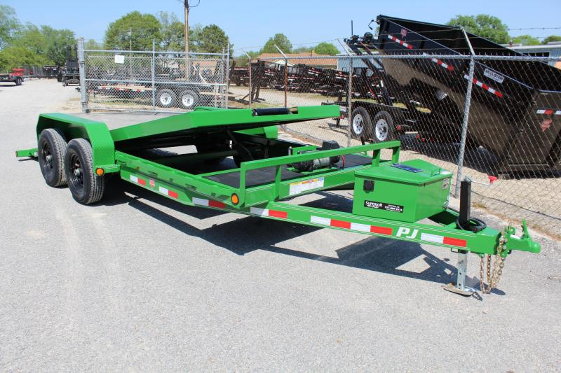 2019 PJ Trailers 18ft T5 Tilt 10K Equipment Trailers