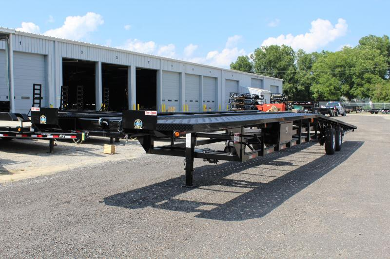 2019 Take 3 48' Ultra Low Pro Wedge 3 Car Trailer w/ Winch