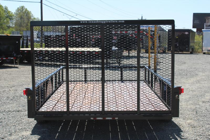 2017 Texas Bragg 6X12P w/ Steps & Gate