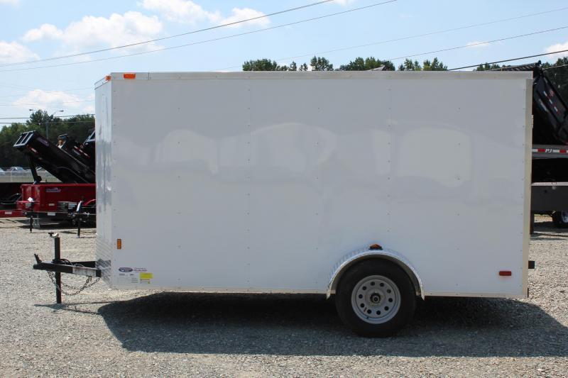 2020 Continental Cargo 6x12 Special w/ Ramp Door