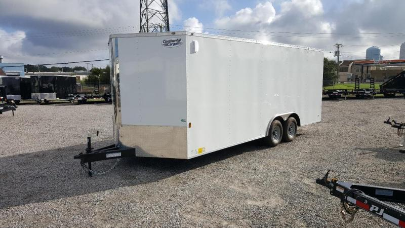 2020 Continental Cargo 8.5X20 10K w/Ramp Door