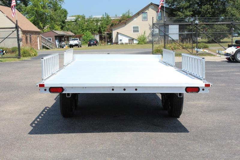 2018 Aluma A8818 4-Place ATV Trailer