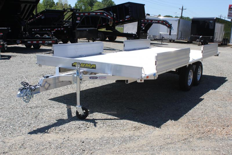 2019 Aluma A8818 4-Place ATV Trailer