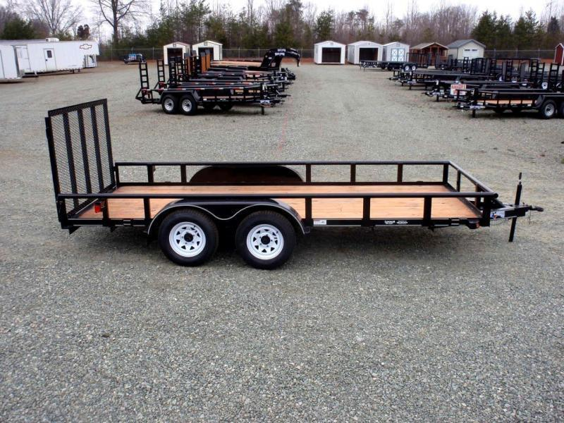 2018 Texas Bragg Trailers 16P w/ Gate