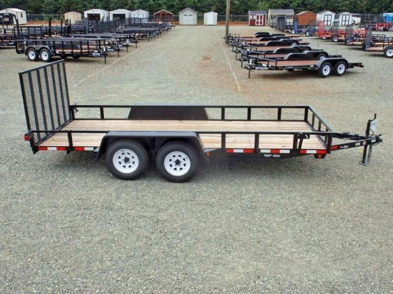 2018 Down 2 Earth Trailers 6X16 w/ Tailgate