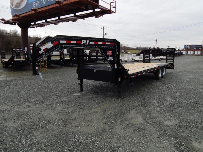 2020 PJ Trailers 26 LS Low Pro 14K w/ Flip Over Ramps