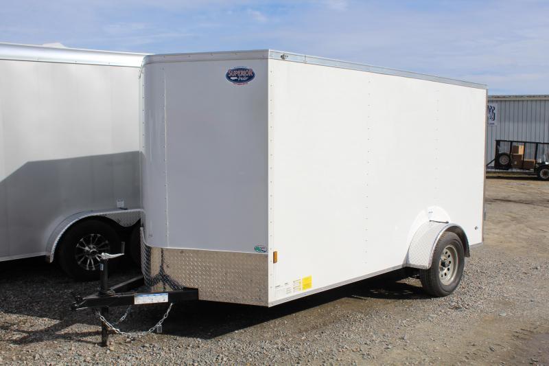 2019 Continental Cargo 6x12 Special w/ Double Rear Door