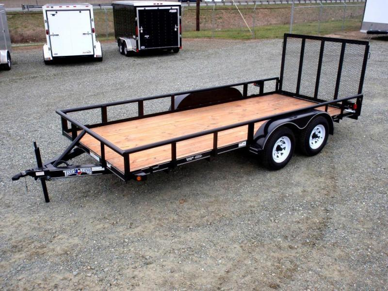 double axle superior trailers nc and va flatbed and. Black Bedroom Furniture Sets. Home Design Ideas