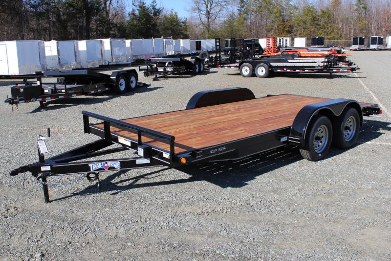 2019 Texas Bragg Trailers 16 HCH Car Trailer in Ashburn, VA