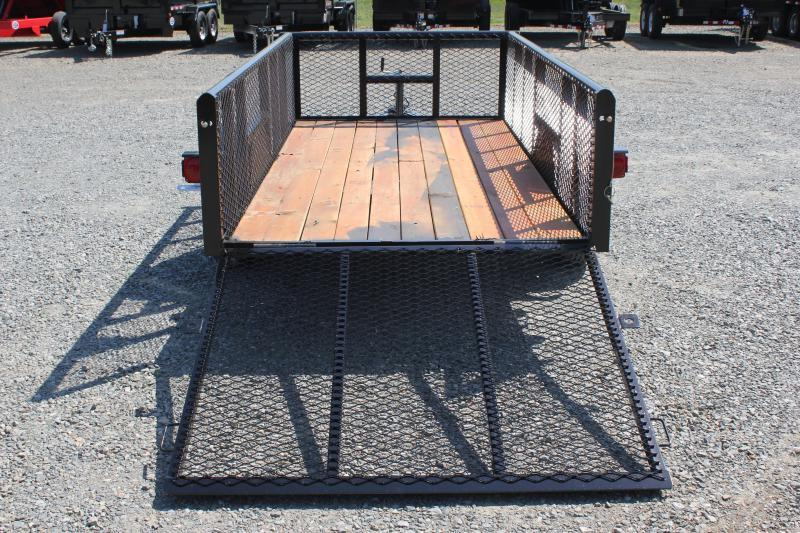 2018 Texas Bragg 5x10P 2ft Expanded Sides w/ Gate