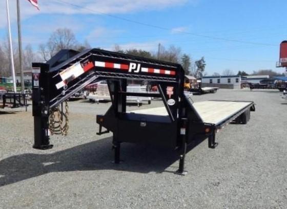2019 PJ 40 FD Gooseneck w/ AIR RIDE DISC BRAKES 12K Axles
